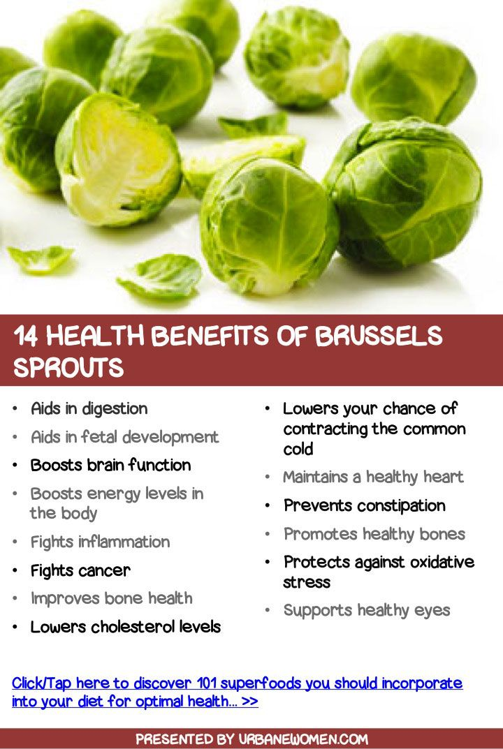 14 health benefits of Brussels sprouts