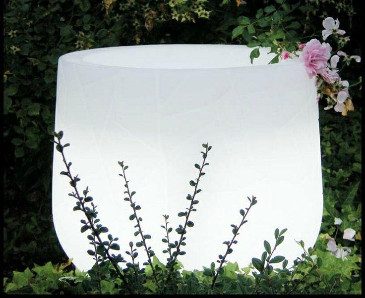 pot de fleur lumineux invitez la lumire dans vos maisons - Grand Pot Pour Jardin