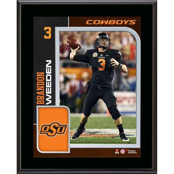 Brandon Weeden Oklahoma State Cowboys Fanatics Authentic 10.5'' x 15'' Sublimated Player Plaque - $29.99