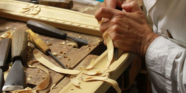 Lavorazione artigiana del legno, 100% made in Italy