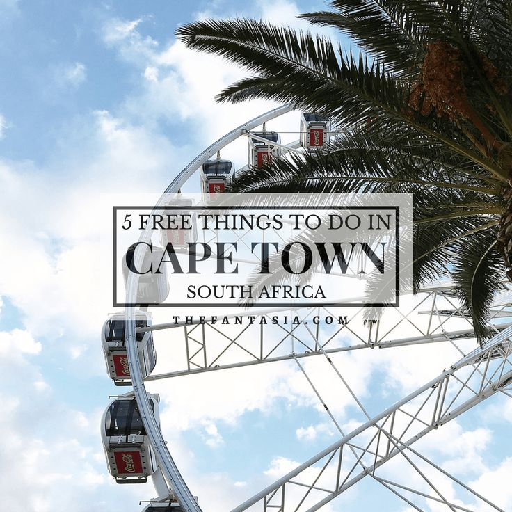Cape Town, South Africa is my favourite city in the world! World-class beaches, wineries, culinary scene are among a few of the reasons why you should be heading there!