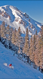 skiing in park city utah. one of our favorite places to ski!