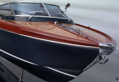 Maquetas de barco - RIVA AQUARIVA 84 cm - © PasiónLujo