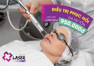 Doctor Laser Spa – Voucher điều trị phục hồi da hư tổn giảm 73%