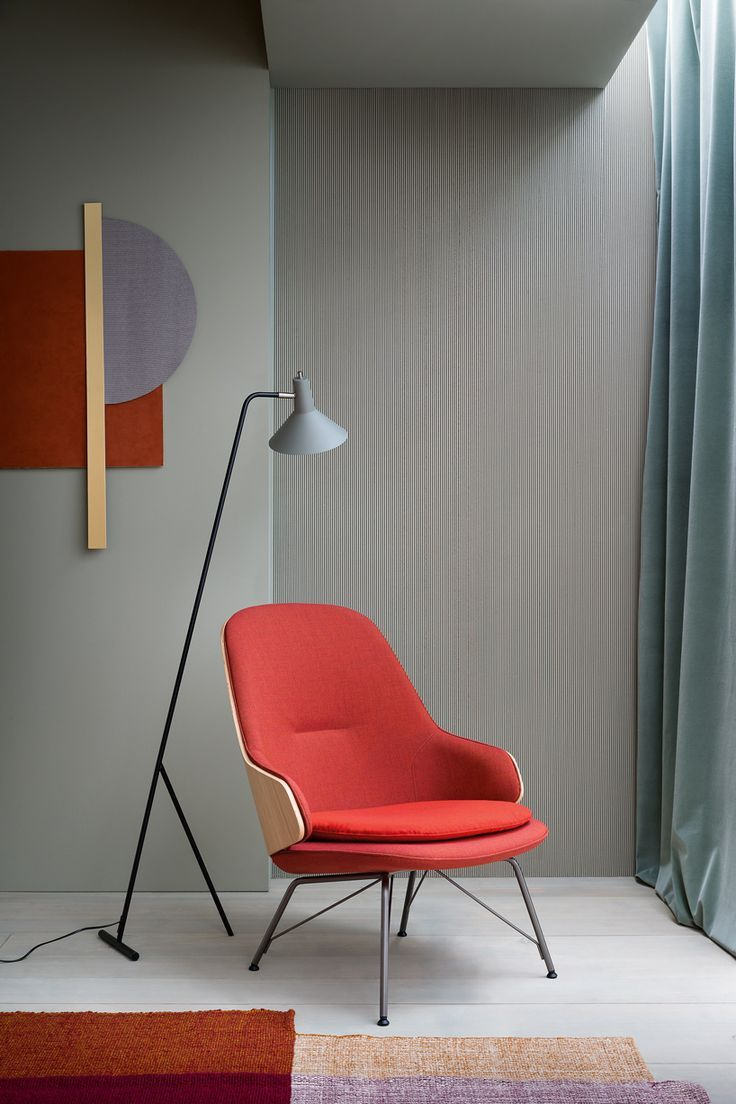 The Judy Armchair by Frank Rettenbacher for Zanotta is a modern take on a mid century modern classic style.