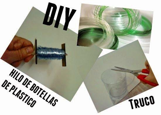 Hilo de botellas de plastico truco y tutorial
