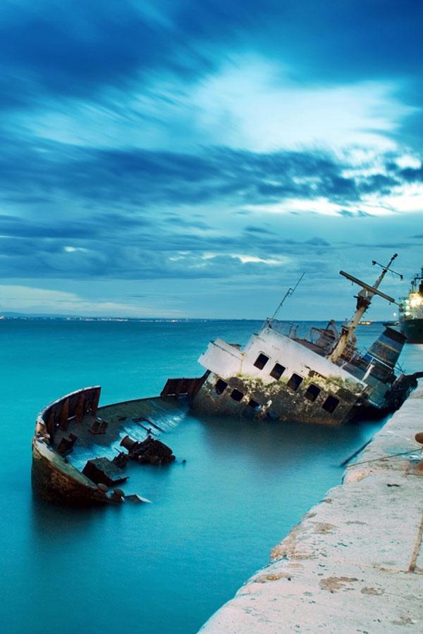 """Ormos"", Fira Old Port, Santorini"