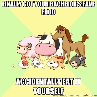 Finally get bachelor's fave food: Accidentally eat yourself