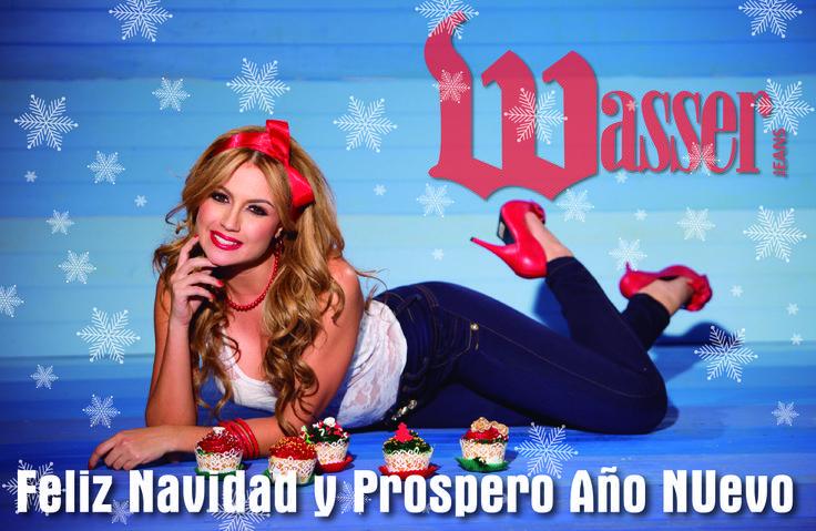 El Centro Mayorista de la Pronto Moda Colombiana Wasser te deseamos ¡¡Feliz Navidad¡¡