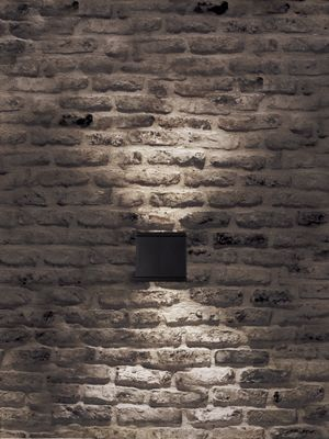 WAC WS-W2504 Down Light, WS-W2505 Up & Down Light Rubix LED Outdoor Wall Light  Rubix - LED Outdoor Luminaires  Heavy duty construction and engineering ensure ultimate up and down lighting for a high-powered residential and commercial light. Hardware concealed for a clean architectural look. Five stunning designer finishes. Contemporary Outdoor Lighting - Brand Lighting Discount Lighting - Call Brand Lighting Sales 800-585-1285 to ask for your best price!