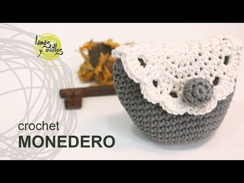 ▶ Tutorial Monedero Crochet o Ganchillo - YouTube