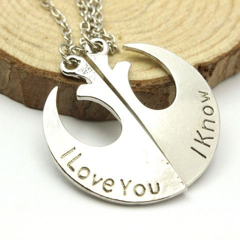Star Wars Rebel Alliance Couple's Necklace
