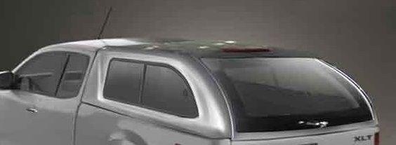 Hard Top Mazda BT-50 2012 en adelante Extra Cabina ventanas correderas made in Totem