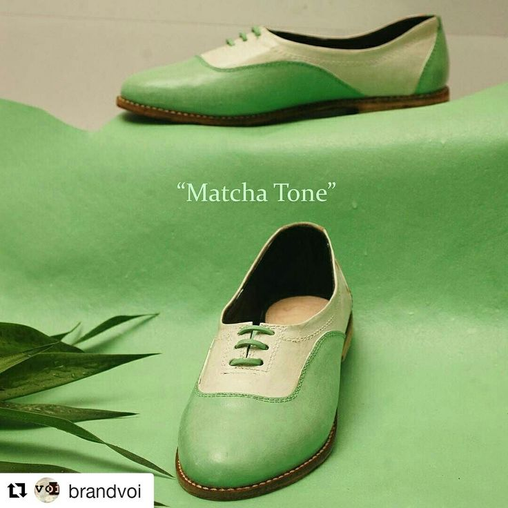The famous Matcha 'green tea'.  www.voibrand.com  #vegetabletanned #leather #voibrand #greentea