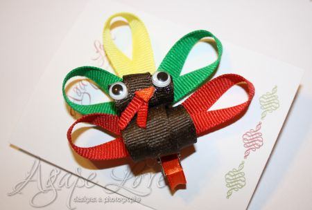 Turkey Ribbon Tutorial