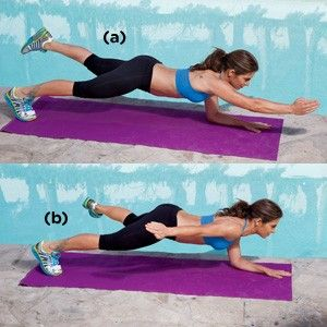 Jillian Michaels: Four Killer Ab Exercises