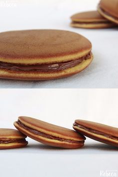 Deliciosos dorayakis japoneses / http://www.lacocinaderebeca.es