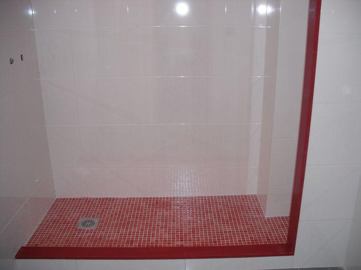 Plato de ducha revestimiento con gresite