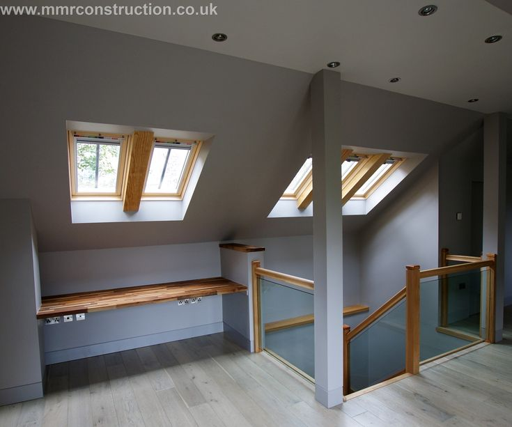 Skylights, loft conversion, attic, roof lights, velux A joint project with our sister Company MMR Construction