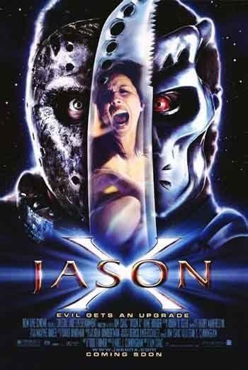 JASON X - 2001 - Original 27x40 movie poster -  KANE HODDER is Jason Voorhees