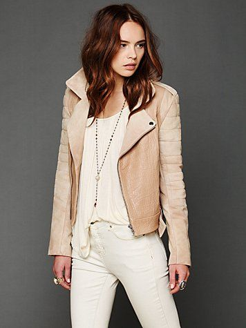 Cote Leather Jacket. http://www.freepeople.com/whats-new/cote-leather-jacket/