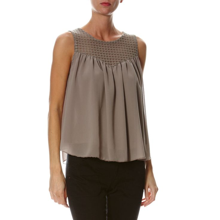 Top - taupe - Soho Boulevard - Ref: 1716304 | Brandalley
