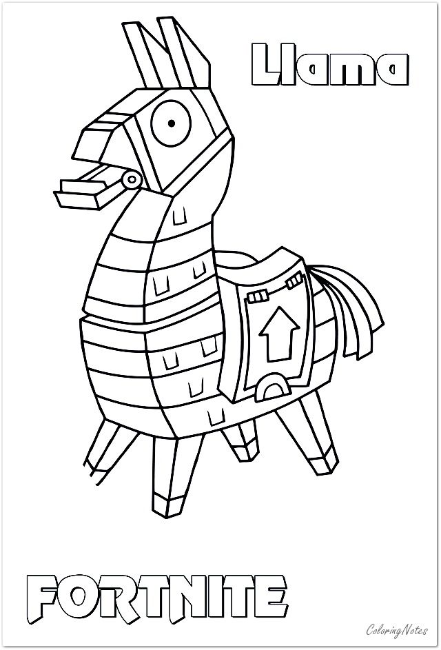 Fortnite Coloring Pages Llama Skin Superman Coloring Pages Coloring Pages For Boys Unicorn Coloring Pages