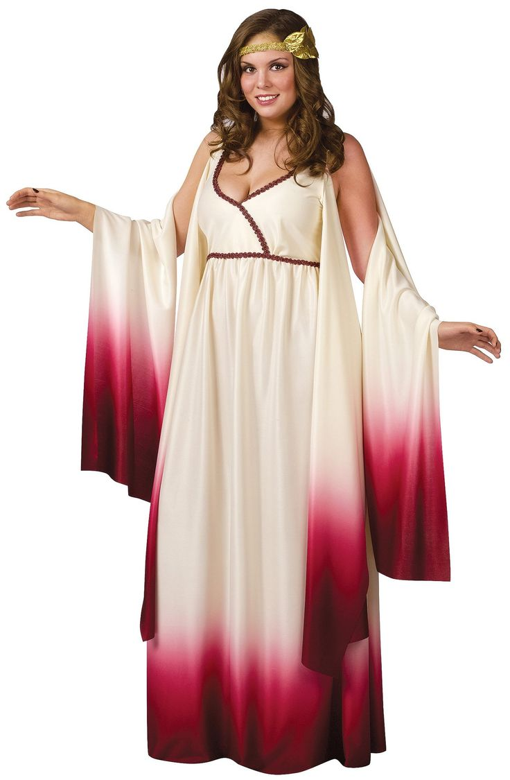 Venus Goddess of Love Adult Plus Costume from BuyCostumes.com