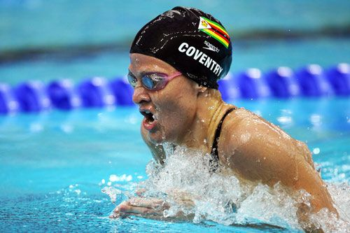 kirsty coventry (2006 Auburn grad) | Kirsty Coventry from Zimbabwe competes