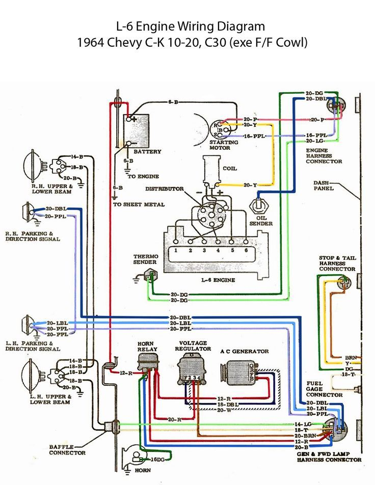 Wiring Diagram For 1965 Chevy Truck Auto - Wiring Diagram M9 on
