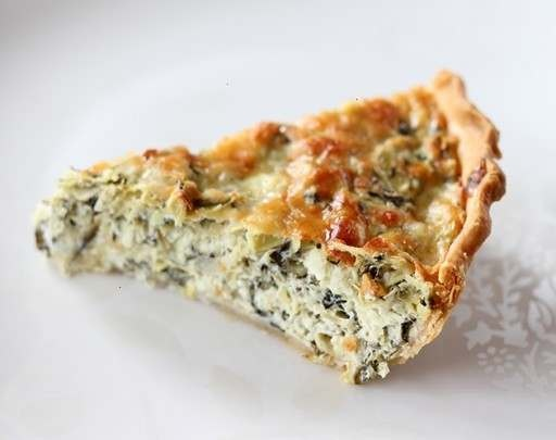 artichoke & spinach pie