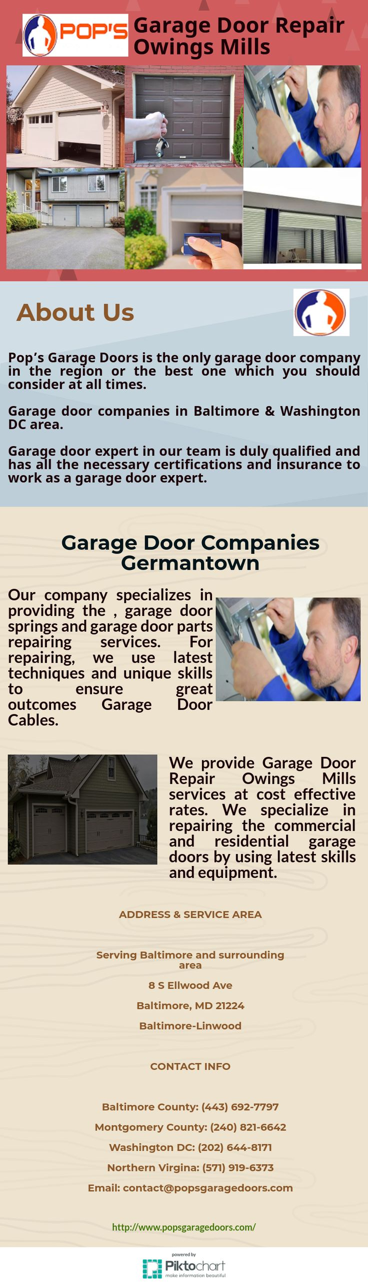 Our company specializes in providing the Garage Door Cables, garage door springs and garage door parts repairing services. For repairing, we use latest techniques and unique skills to ensure great outcomes.