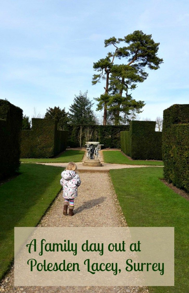 A family day out - Polesden Lacey with kids. Discovering the play area, ground and gardens at the National Trust property in Surrey