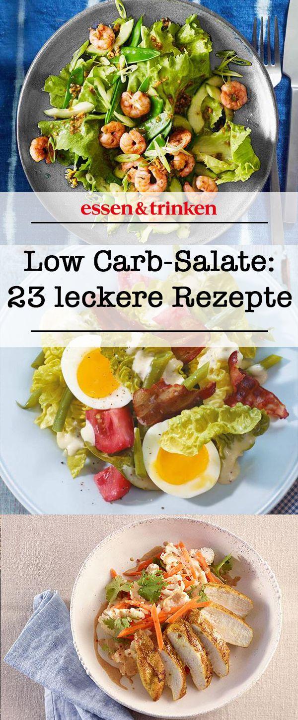 Low Carb-Salate: 23 leckere Rezepte