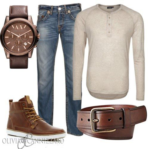 Casual Mens Styling For even more looks follow me at Twitter.com/OliviaCannStyle www.OliviaCannizzaro.com/blog