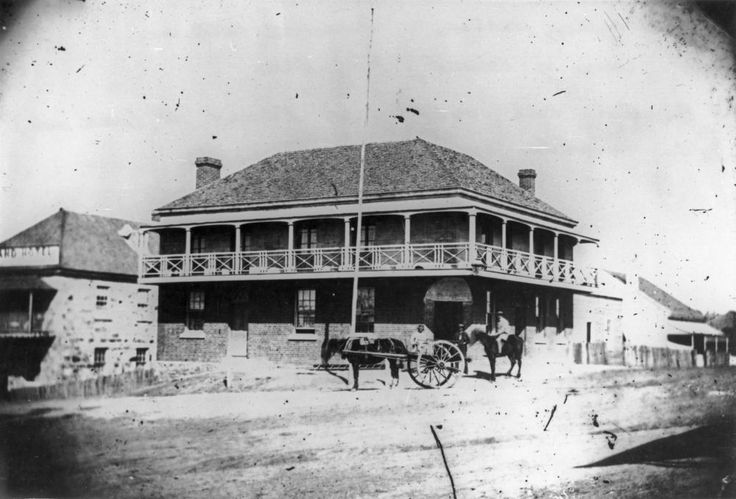 Edward St. 1864. The Metropolitan Hotel.
