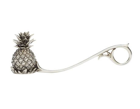 CANDLE SNUFFER--pineapples are making a comeback