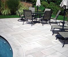 Indiana Limestone Pavers - click on link and you can find link for paver patterns