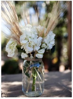 Simple for a country style wedding.