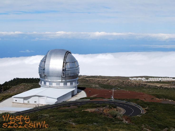 Obserwatorium Astrofizyczne Roque de los Muchachos na La Palmie.