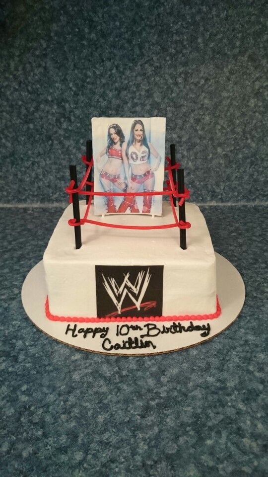 7 best WWE cakes ideas images on Pinterest Wwe cake Wwe party