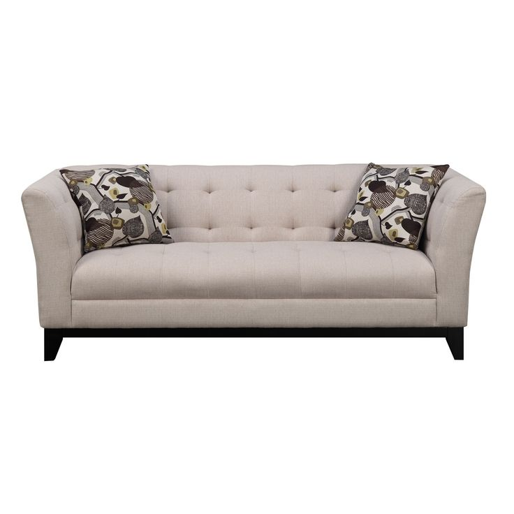 Emerald Marion Cream Transitional Sofa
