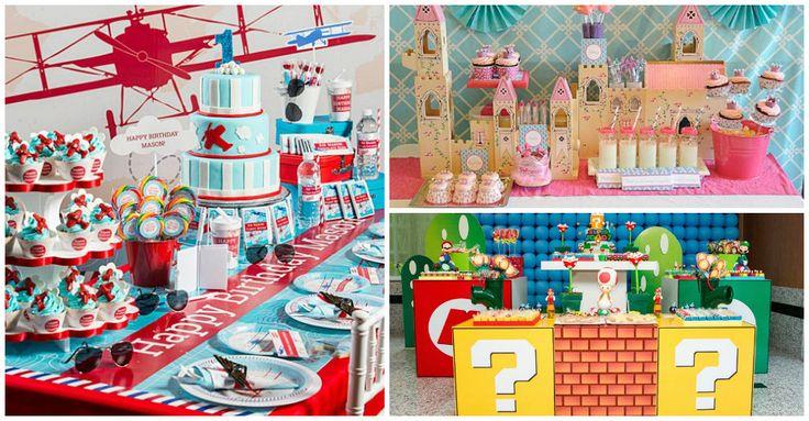 Festas criativas - 57 idéias de temas de festa infantil