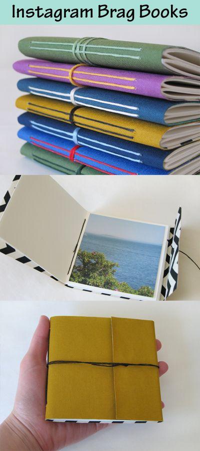 Great idea for all social media fans: Instagram Brag Books by Cathy Durso.