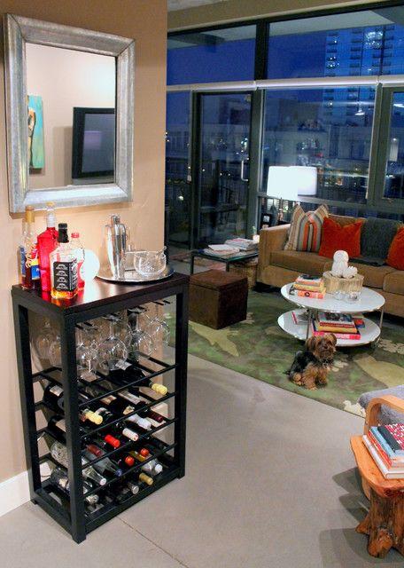Minibar für Wohnzimmer #minibar #wohnzimmer | Dekoration ideen ...
