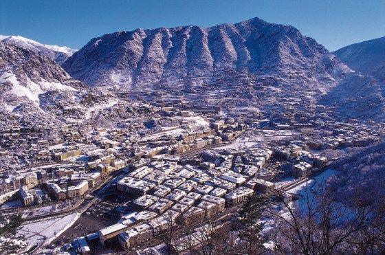 Andorra felülről