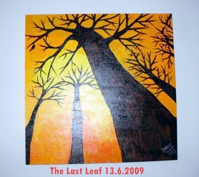 Tittle: the last leaf status: sold