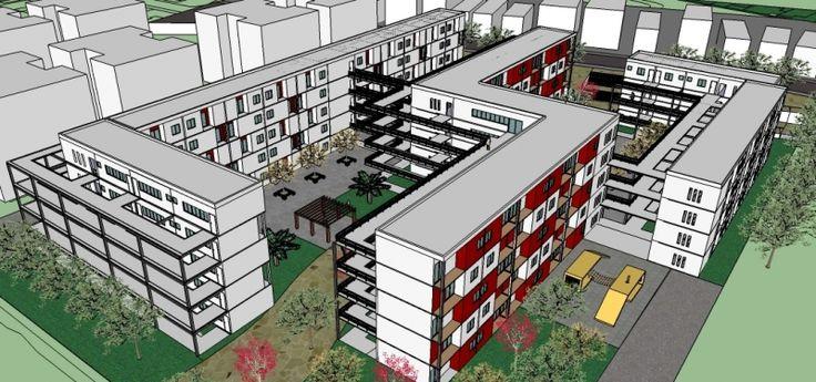 Projeto: Conjunto Habitacional de Interesse Social