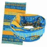 """Alpha Xi Delta sorority Wide Head Buff - One size fits most 24"""" in length and many great ways to wear them!"""