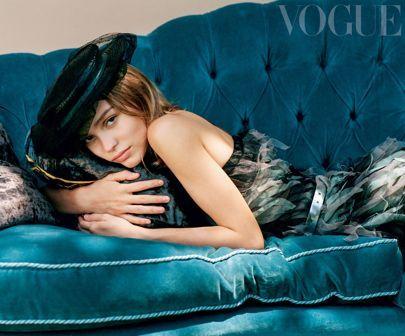 Lily-Rose Depp Cover Interview December 2016 Vogue   British Vogue